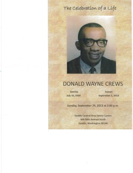 Cousin Don's Brochure cover