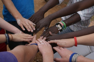 Hands of all colors via flickr