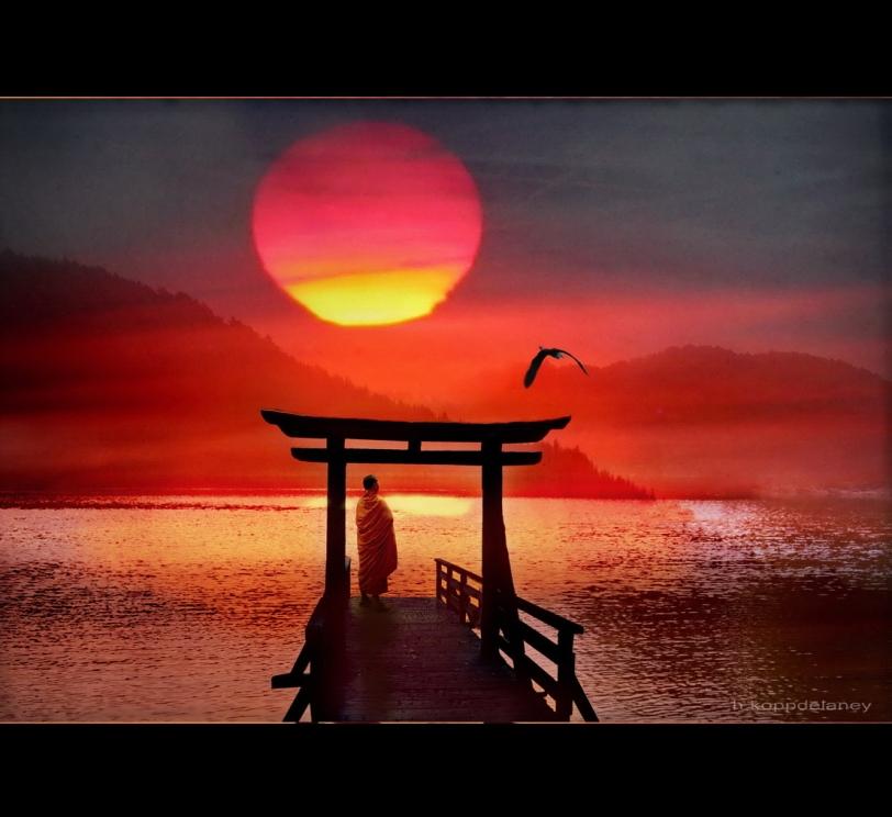 Meditation Red Sun via flickr Hartwig HKD