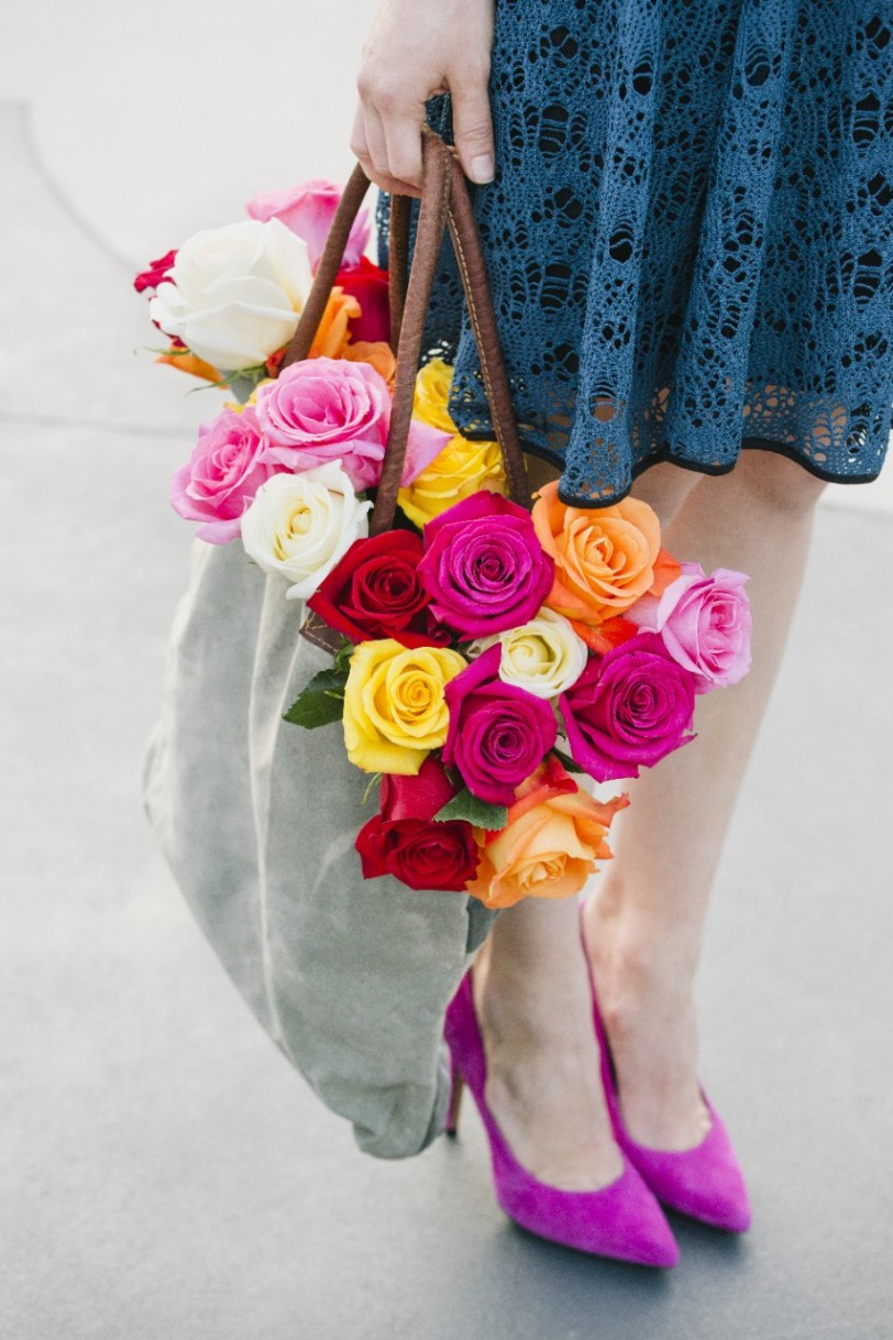 roses in a bag-flickr