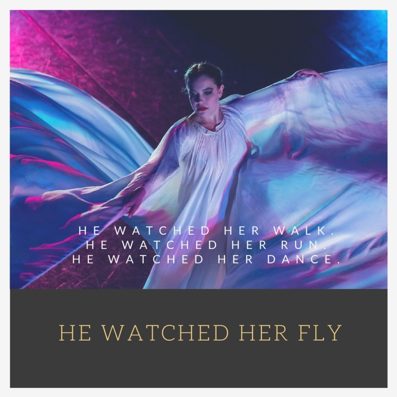 watched her fly