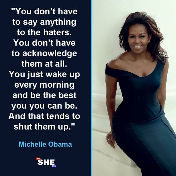 Michelle & haters